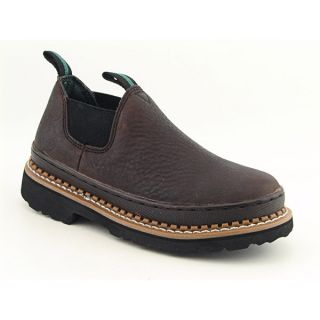 Georgia Giant Romeo Youth Kids Boys Sz 6 Brown Boots Casual 38EU 5UK