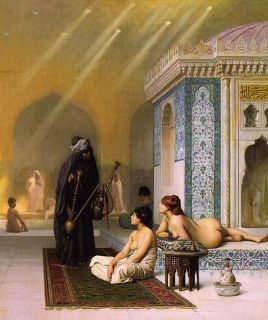Harem Pool Jean Leon Gerome Oil Painting Repro