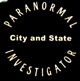 Paranormal Investigator Ghost Hunting Vinyl Decal Car Truck Boat