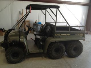 John Deere Gator 6X4, Gas, Dump Bed, 3000 lb Winch, Canopy, Tow Hitch