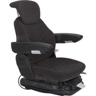 Original Grammer Multi Adjust Air Suspension Seat Cloth Cover on Steel