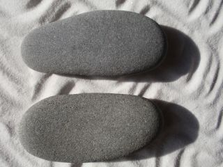 Hot Stone Massage 2 XX Large Foot Stone (placement) for Hot/Cold Tx (6