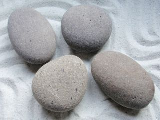 Hot Stone Massage 4 X Large Deep Tissue Placement Stone for Hot Cold