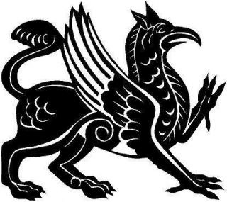 Mythical Griffin Vinyl Decal Car Truck Window Sticker