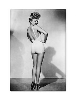 Betty Grable Famous Pin Up Fridge Refrigerator Magnet