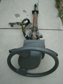 2000 Chevy Tracker Steering Column with Key