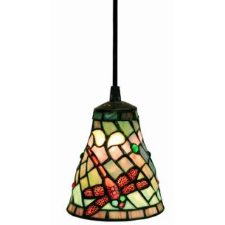 Warehouse of Tiffany Dragonfly 1 Light Hanging Pendant   2011HANG