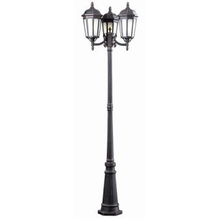 Kalco Tudor Two Light Outdoor Wall Lantern in Textured Matte Black