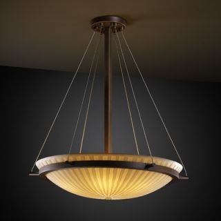 Justice Design Group LumenAria 3 Light Pendant   FAL 8818