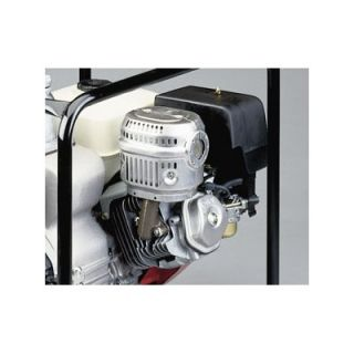 Tsurumi 4, 11 HP Honda Engine Driven Trash Pump with Low Oil Sensor