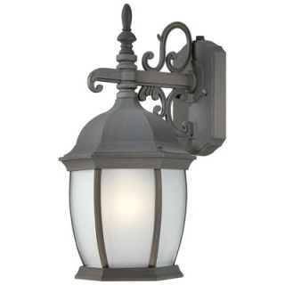 Sea Gull Lighting Medford Lakes Outdoor Wall Lantern in Statuary