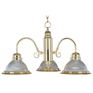Maxim Lighting Builder Basics 3 Light Mini Chandelier   91193CLPB