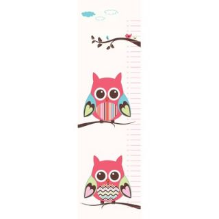 Secretly Designed Belly Owl Growth Chart Wall Decal   WA146 GC