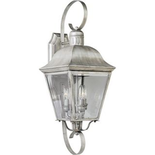 Progress Lighting Andover Outdoor Wall Lantern in Oxford Silver