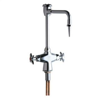 Chicago Faucets Laboratory Single Hole Faucet with Cast Swing Spout
