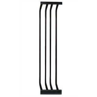 Dream Baby 10.5 Extra Tall Gate Extension in Black