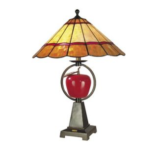 Dale Tiffany Temptation 1 Light Table Lamp