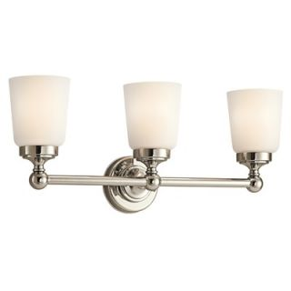 Kichler Perth Vanity Light in Polished Nickel