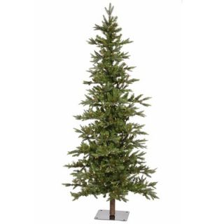 Vickerman Shawnee Fir 6 Alpine Artificial Christmas Tree with Clear