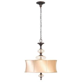 World Imports Lighting Chambord 3 Light Pendant