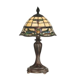 Dale Tiffany 19 One Light Table Lamp in Fieldstone
