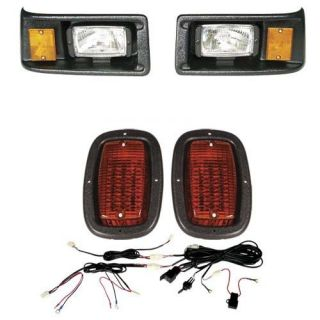 Yamaha G2 G9 Golf Cart Black Bezel LED Light Kit