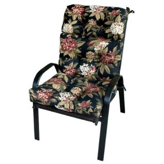 Greendale Home Fashions 4809 Mid Floral Outdoor High Back Chair