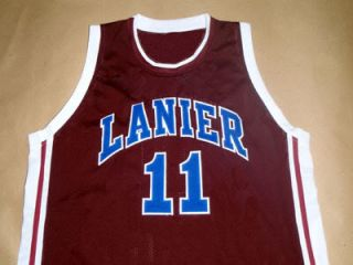 Monta Ellis Lanier High School Jersey Maroon New Any Size FDS