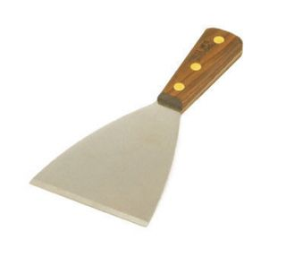 Heavy Duty GRIDDLE GRILL SCRAPER Wood Handle   A Must Kitchen Tool