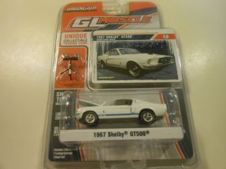 Greenlight Collectibles 1967 Ford Mustang Shelby GT500 NIP