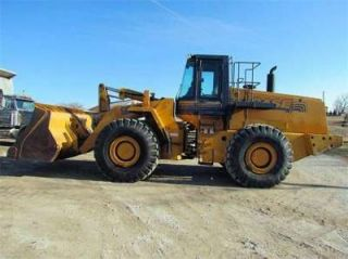 1998 Case 921B Wheel Loader w Loader Bucket