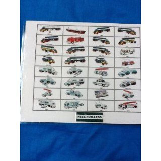 2012 Hess Toy Truck Picture Guide