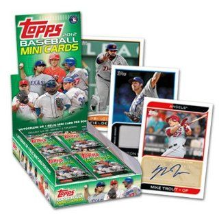 2012 Topps Baseball Mini Cards 24 pack Box   Limited   New