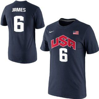 Nike 2012 USA Basketball LeBron James Authentic Jersey T