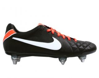Nike Tiempo Legend 4 Elite SG Mens Soccer Cleats Black