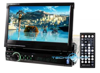 Nitro 7 Car DVD GPS Touch Screen Stereo Player 3D Navigation