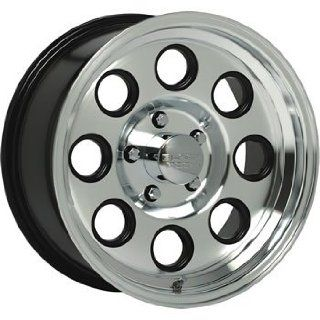 Black Rock Yuma 16x8 Machined Wheel / Rim 6x5.5 with a 0mm Offset and