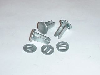 german army wwii ww2 repro helmet rivets and washers from