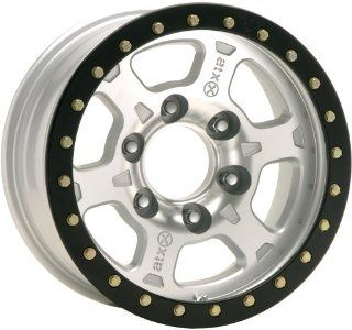 American Racing ATX Chamber Pro 17x8.5 Silver Wheel / Rim 6x6.5 with a