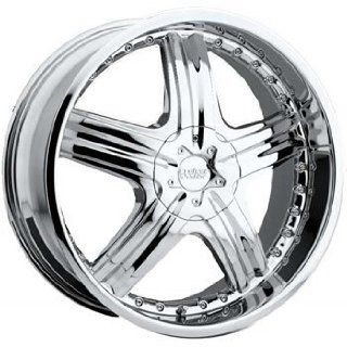 Cruiser Alloy Genesis 18x7.5 Chrome Wheel / Rim 4x100 & 4x4.5 with a