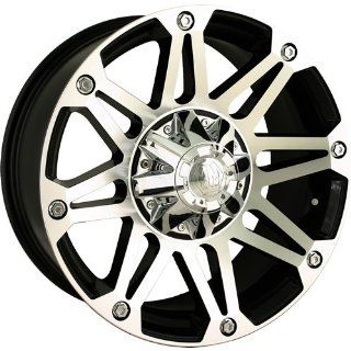 Mayhem Riot 18 Machined Black Wheel / Rim 8x6.5 & 8x170 with a  12mm