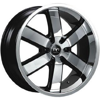 Motiv Magnum 20x9 Chrome Black Wheel / Rim 6x135 with a 30mm Offset