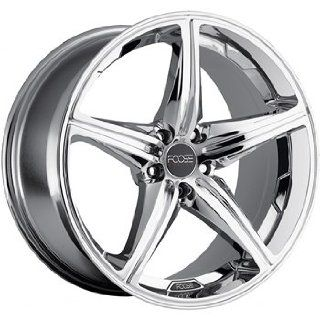 Foose Speed 18x9.5 Chrome Wheel / Rim 5x120 with a 30mm Offset and a