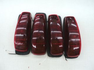 Grote 9218 Red Clearance Lights, Running Lights Lot of 4 RV CAMPER TOY