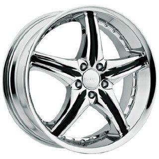 Cattivo 730 20x9.5 Chrome Wheel / Rim 5x4.5 with a 35mm Offset and a