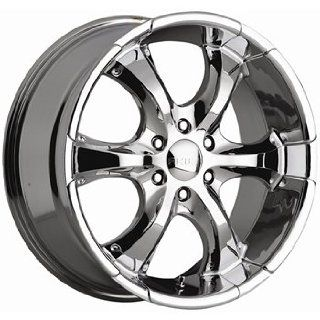 Akuza OJ 22x9.5 Chrome Wheel / Rim 6x5.5 with a 20mm Offset and a 110