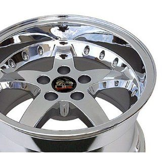 Detroit Wheels Series 815   Replica Ford Mustang Cobra Chrome Finish