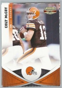 2011 Gridiron Gear Cleveland Browns Team Set McCoy Hillis