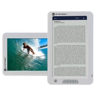 Brand New in Box   Hip Street 7 Touch Screen Multimedia E Reader Book