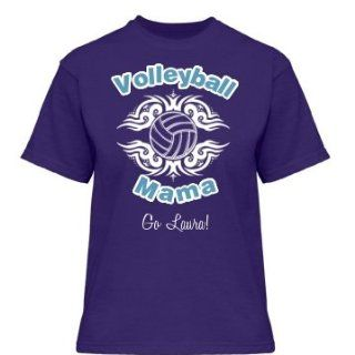 Volleyball Mom Tee Custom Misses Relaxed Fit Gildan Ultra
